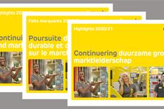 Highlights 2020/21: Continuering duurzame groei en marktleiderschap